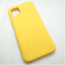 """Силиконовый чехол """"Silicone Case"""" для Huawei P40 Lite, желтый"""