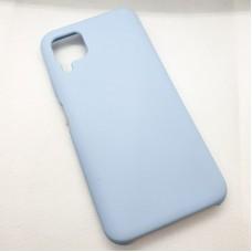 """Силиконовый чехол """"Silicone Case"""" для Huawei P40 Lite, голубой"""