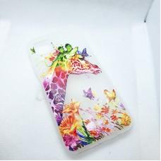 Чехол накладка для Huawei P40 Lite (Nova 6s) с рисунком Жираф