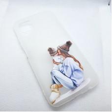 Чехол накладка для Huawei P40 Lite (Nova 6s) с рисунком Family Look