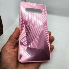 Чехол накладка для Samsung Galaxy S10 plus Krystal розовый