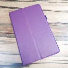 Чехол для планшета Lenovo Tab M8 8505, фиолетовый экокожа
