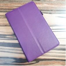 Чехол для планшета Кожзам  Huawei MediaPad M5 lite  10 дюймов, фиолетовый