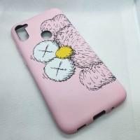 """Силиконовый чехол """"LUXO"""" для Samsung Galaxy A11s, с принтом розовый"""