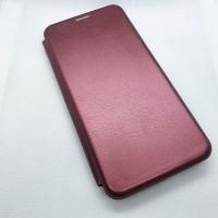 Чехол-книга для Samsung Galaxy A11s, бордовый