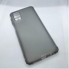 Силиконовый чехол для Samsung Galaxy M31s JFK серо-коричневый