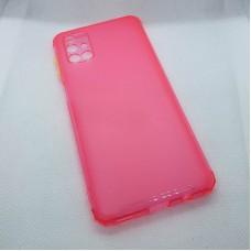 Силиконовый чехол для Samsung Galaxy M31s JFK розовый