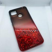 Чехол для Xiaomi Redmi 9c EXPERTS пересыпашка с градиентом , красный