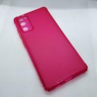 Чехол для Samsung Galaxy S20FE (Fan Edition)  JFK силиконовый малиновый