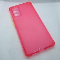 Чехол для Samsung Galaxy S20FE (Fan Edition)  JFK силиконовый розовый