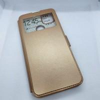 Чехол-книга EXPERTS для Xiaomi Redmi 9c, золотой с окошком