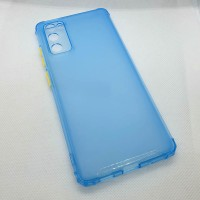 Чехол для Samsung Galaxy S20FE (Fan Edition)  JFK силиконовый голубой