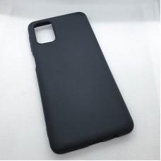 Силиконовый чехол для Samsung Galaxy M31s EXPERTS  черный