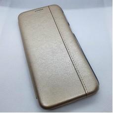 Чехол-книга для Samsung Galaxy M31s, золотой