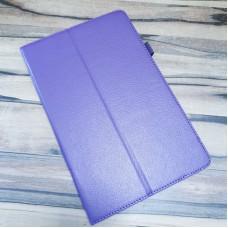 Чехол-книга  для Samsung Galaxy S6 Lite 10.4 SM-P610 экокожа фиолетовый