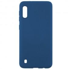 Силиконовый чехол для Samsung Galaxy A01 Red Line Ultimate Синий