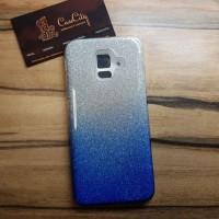 """Силиконовый чехол EXPERTS """"BRILLIANCE"""" Samsung Galaxy A6 (2018), голубой"""