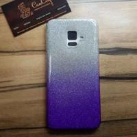 """Силиконовый чехол EXPERTS """"BRILLIANCE"""" Samsung Galaxy A6 (2018), фиолетовый"""