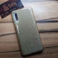 """Силиконовый чехол EXPERTS """"DIAMOND"""" Samsung Galaxy A50, золотой"""