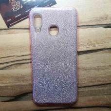 """Силиконовый чехол EXPERTS """"DIAMOND"""" Samsung Galaxy A30, розовый"""