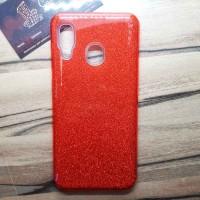 """Силиконовый чехол EXPERTS """"DIAMOND"""" Samsung Galaxy A30, красный"""