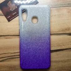 """Силиконовый чехол EXPERTS """"BRILLIANCE"""" Samsung Galaxy A30, фиолетовый"""