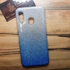 """Силиконовый чехол EXPERTS """"BRILLIANCE"""" Samsung Galaxy A30, голубой"""