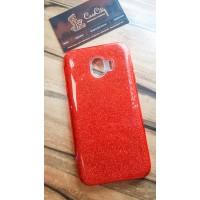 """Силиконовый чехол EXPERTS """"DIAMOND """" для Samsung Galaxy J4 J400, красный"""