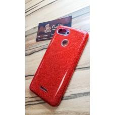 """Силиконовый чехол EXPERTS """"DIAMOND """" для Xiaomi Redmi 6, красный"""