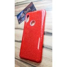 """Силиконовый чехол EXPERTS """"DIAMOND """" для Xiaomi Redmi Note 6 Pro, красный"""
