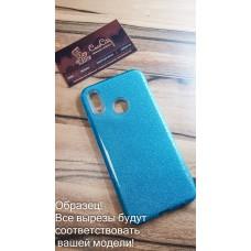 """Силиконовый чехол EXPERTS """"DIAMOND """" для Samsung Galaxy J4 J400, голубой"""