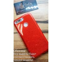 """Силиконовый чехол EXPERTS """"DIAMOND """" для iPhone 6 Plus, красный"""