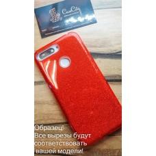 """Силиконовый чехол EXPERTS """"DIAMOND """" для iPhone 7 Plus 5,5"""", красный"""