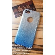 """Силиконовый чехол EXPERTS """"BRILLIANCE """" для Samsung Galaxy J4 J400, голубой"""
