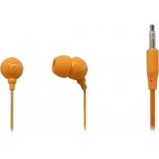 Внутриканальные стерео наушники SmartBuy COLOR TREND, оранжевые