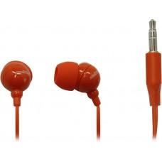 Внутриканальные стерео наушники SmartBuy COLOR TREND, красные