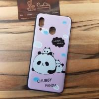 Чехол накладка для Samsung Galaxy A30 с рисунком Мимишная панда