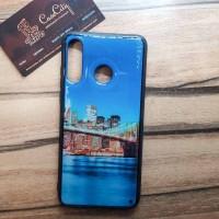 Чехол накладка для Samsung Galaxy A40 с рисунком City 2.0