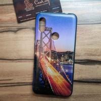 Чехол накладка для Samsung Galaxy J2 Core с рисунком Ночной мост