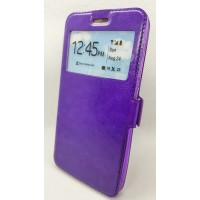 "Чехол-книжка EXPERTS ""Slim Book  Case""для Samsung Galaxy J6 J600, фиолетовая"