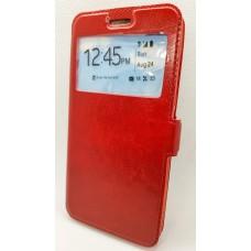 "Чехол-книжка EXPERTS ""Slim Book  Case""для Huawei Honor 7С PRO, красная"