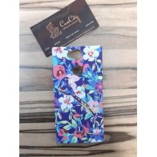Силиконовый чехол для Sony Xperia XA2  Luxo  цветы оригинал