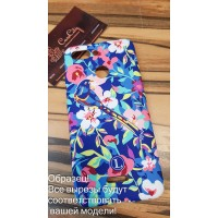 Силиконовый чехол для Xiaomi Mi8 Luxo Flowers оригинал