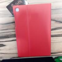 "Чехол для планшета  кожзам 10""  Samsung Tab S5e/T725 , красный"