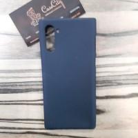 Силиконовый чехол EXPERTS для Samsung Galaxy Note10 N970 черный
