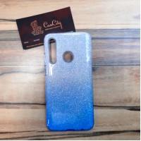 Чехол-накладка с градиентом для Huawei/Honor 10i/Honor 20 Lite Серо-голубой