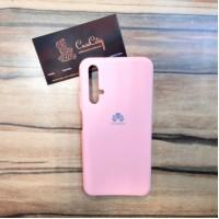Силиконовый чехол Silicon Case для Huawei/Honor 20, Розовый
