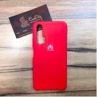 Силиконовый чехол Silicon Case для Huawei/Honor 20 Pro Красный