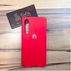 """Силиконовый чехол """"Silicone Case"""" для Huawei P30, красный"""