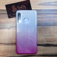 """Силиконовый чехол """"EXPERTS"""" с градиентом для Huawei P30 Lite, розовый"""